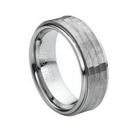 Tungsten Carbide Brushed Rings