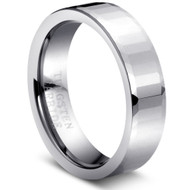 "Tungsten Ring "" High Polish """