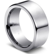 "Tungsten Ring  ""High Polished"""