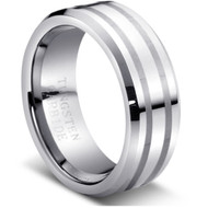 "Tungsten Ring"" High Polished """