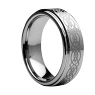 Laser Engraved Tungsten Rings