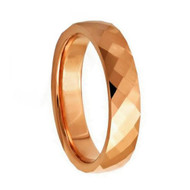 "Faceted ""Tungsten Ring"""