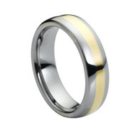 "Tungsten Carbide Ring ""High Polished """