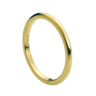 Gold Carbide Tungsten Ring