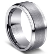 "Tungsten Ring ""Brushed """