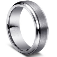 "Tungsten Ring ""Matte & polished"""