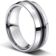 "Tungsten Ring "" Matte Finish """