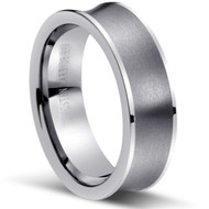 "TUNGSTEN RING ""MATTE & HIGH POLISH"""
