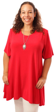 Elegant Flowy Pocket Tunic