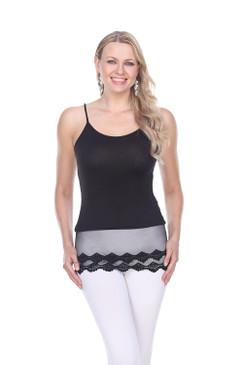 Feminine Cami Shirt Extender
