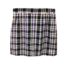 2-Kick Pleat Skirt PLAID P2M
