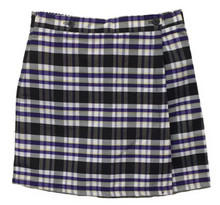 Plaid 2 Pleat Skort P2M