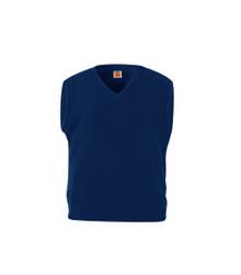 Heavy Guage V-Neck Pullover Sweater Vest