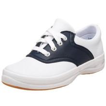 Navy & White Saddle Shoes Keds