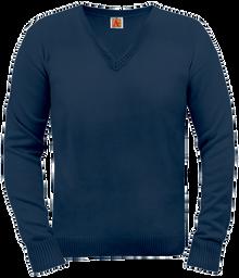V-Neck Pullover Sweater 6432