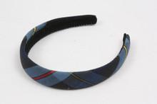Plaid Padded Headband (1004)