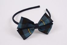 """Small Headband with 4"""" Bow (1004)"""