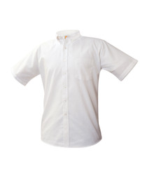 Unisex Oxford Short Sleeve