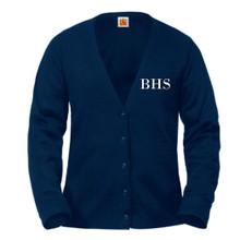 V-Neck Cardigan Sweater -BH