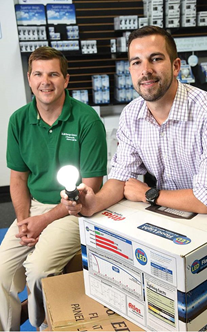 Doug Root and Jesse Root Atlanta Light Bulbs ALB Energy Solutions