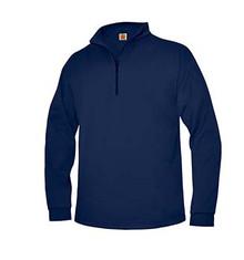 Quarter,Zip Sport,Wick Fleece Sweatshirt with Logo (1001)