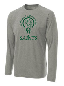 Performance T-Shirt Long Sleeve with Logo, Spirit Wear (1042)