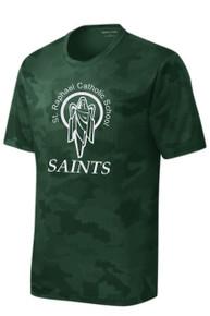 Camohex T-Shirt Short Sleeve with Logo, Spirit Wear (1042)