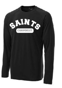 Performance T-Shirt Long Sleeve with Logo,  Spirit Wear (1005)