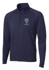 Half Zip Sport-Wick Pullover with Logo, Spirit Wear (1042)