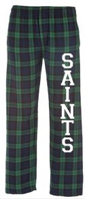 Flannel Pants with Logo, Spirit Wear (1042)