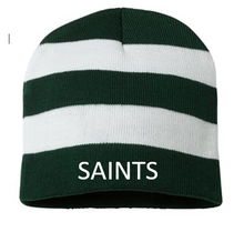 Striped Knit Hat, Spirit Wear with Logo (1042)