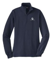 Ladies 1/4 Zip Sweatshirt, (2001)