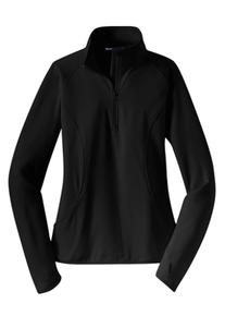Ladies Half Zip Sport-Wick Pullover (2005)