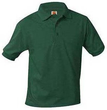 Polo Short Sleeve Jersey Knit (1001)