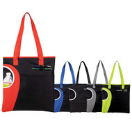 Zipper Top Bottle Tote