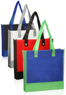 Stylish Two Tone Tote Bag