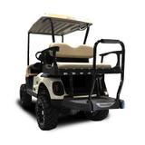 Genesis 250 Golf Cart Rear Seat Kit Sandstone Cushion Set For a EZGO RXV