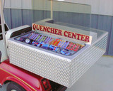 Club Car DS Quencher Center Concession Box