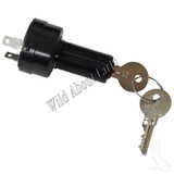 Key Switch, 2 Terminal, Uncommon, Club Car DS Precedent Electric