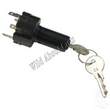 Key Switch, 4 Terminal, Uncommon, Club Car DS Precedent Gas