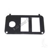 Key Switch Console Plate, E-Z-Go PDS with F/R Switch, Vertical State of Charge Meter