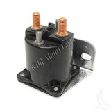 Solenoid, 14V Four Terminal Silver, E-Z-Go 4 Cycle Gas 94+ Med/TXT