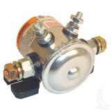 Solenoid, 12V Four Terminal Copper/Short, E-Z-Go Marathon Gas 79-94