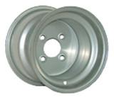 10x8 Silver Steel Wheel (3:5 Offset)