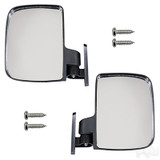 Universal Golf Cart Side Mirror Set