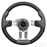 "Club Car Aviator 5 Carbon Fiber Steering Wheel 13"" Diameter"