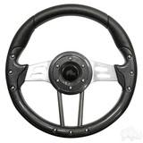 "Club Car Aviator 4 Carbon Fiber Steering Wheel 13"" Diameter"