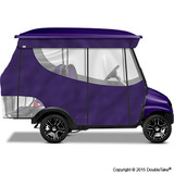 4 Passenger Enclosure Purple with Valance