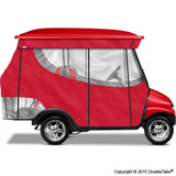 4 Passenger Enclosure Red with Valance