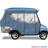 4 Passenger Enclosure Sky Blue with Valance